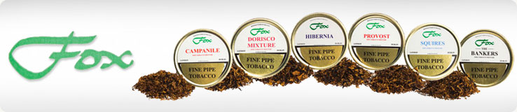 J.J. Fox Pipe Tobacco Tins