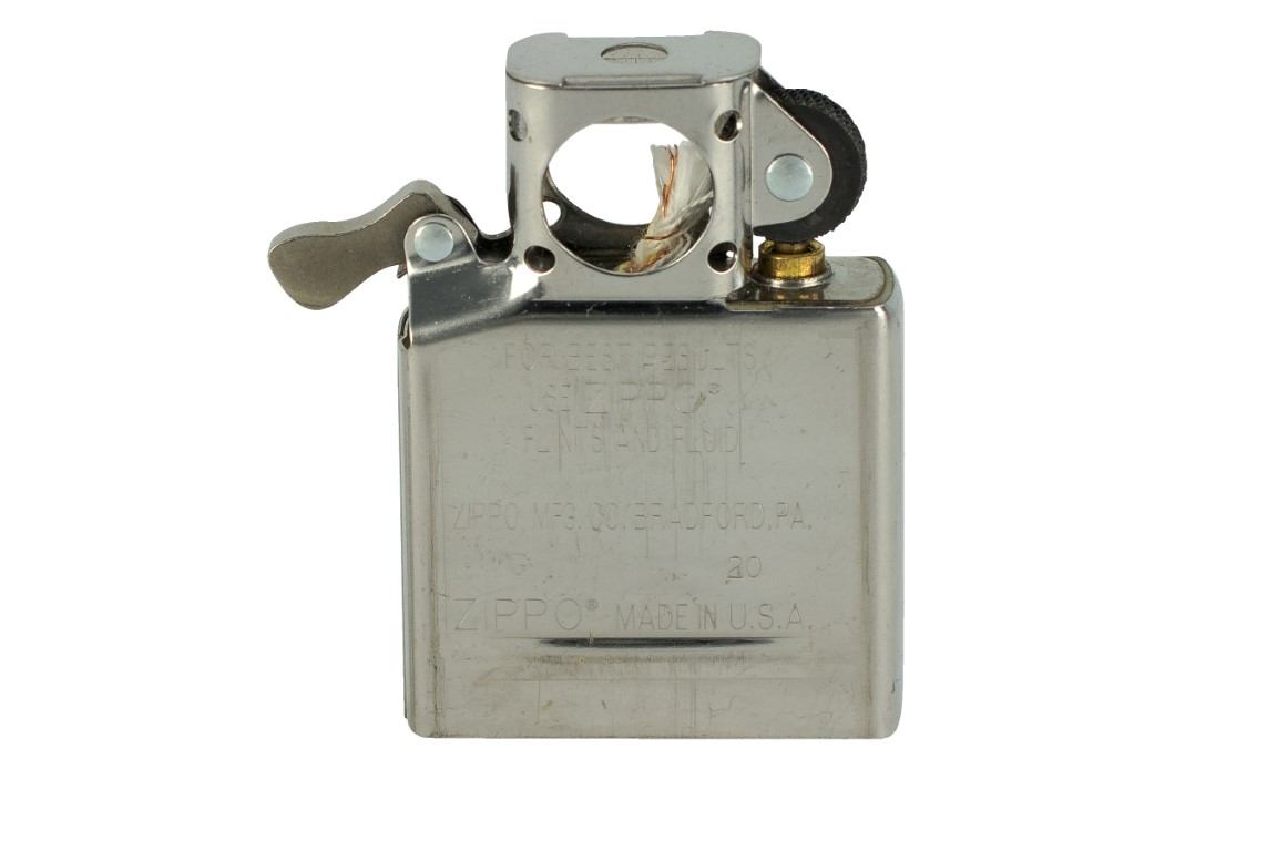 Zippo has an insert specially made for tobacco pipes.